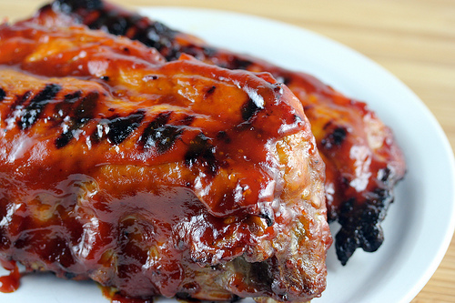 Grilled BBQ Baby Back Ribs
