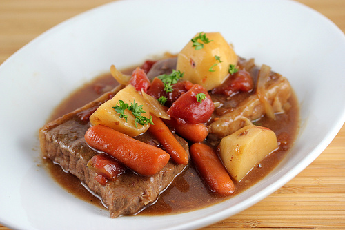 Slow Cooker One Dish Swiss Steak