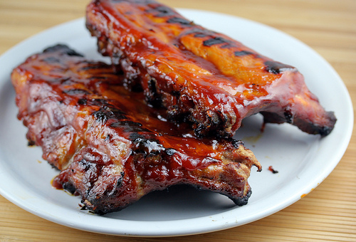Grilled BBQ Baby Back Ribs Recipe | Free Delicious Italian Recipes ...