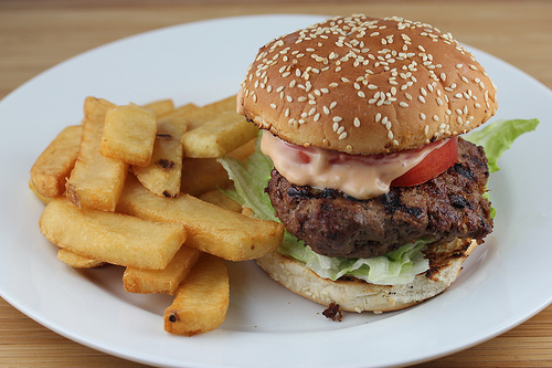 Classic Grilled Hamburger
