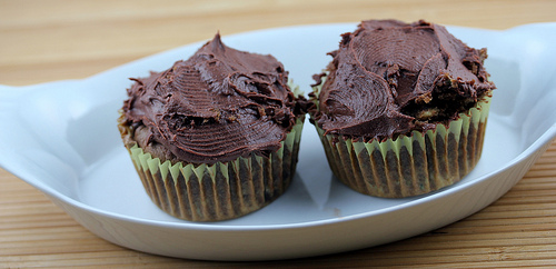 Zucchini Chocolate Cupcakes Recipe