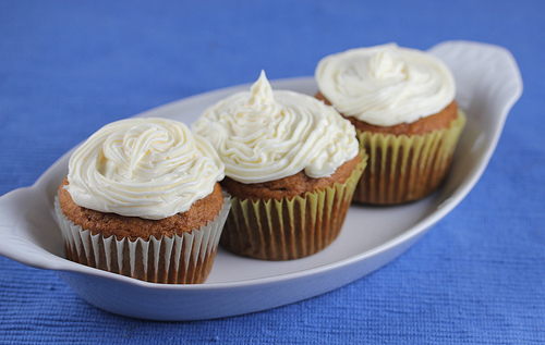 Pumpkin Ginger Cupcakes Recipe
