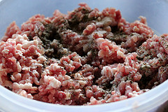 ground pork sausage