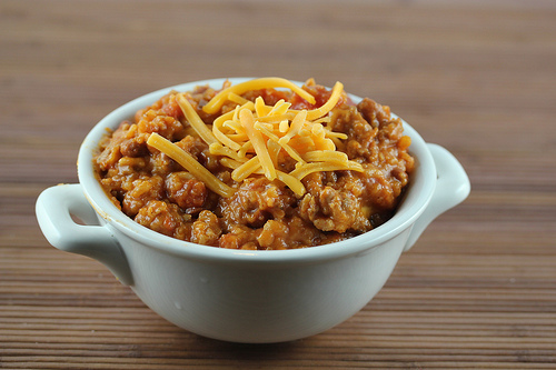 Slow Cooker Chili Casserole