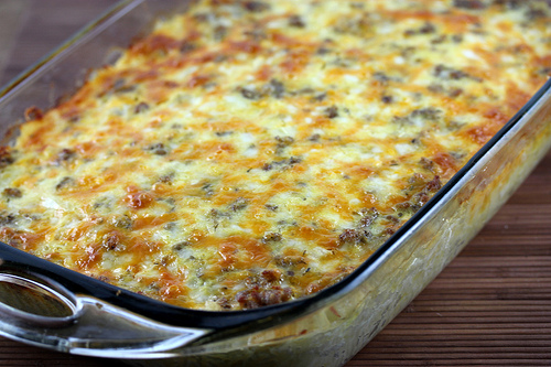 Eggs and Sausage Casserole Recipe