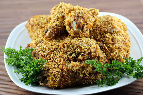 Crispy Baked Chicken Recipe