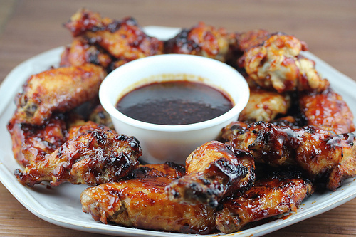 Grilled Honey Bbq Chicken Wings Recipe Cully S Kitchen
