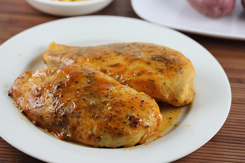 Baked Honey Mustard Chicken 2