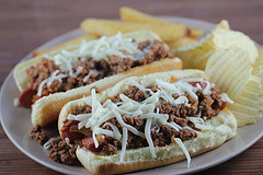Hot Dog Sloppy Joes