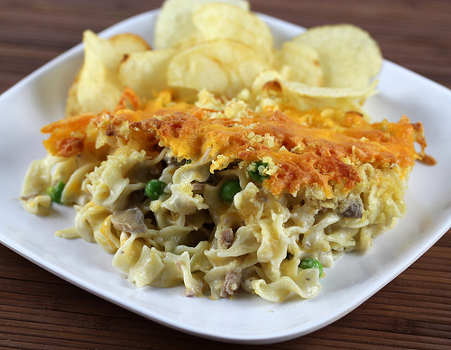 Basic Tuna Casserole Recipe