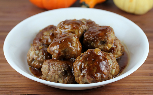 Asian Venison Meatballs recipe