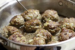 cooking Venison Meatballs recipe