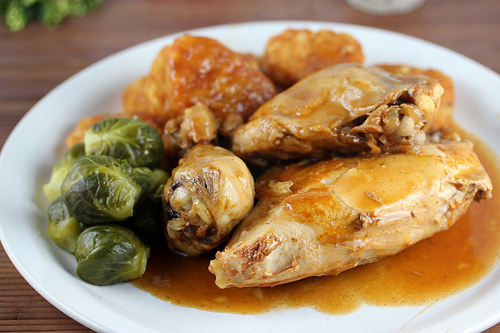 Slow Cooker Barbequed chicken Recipe
