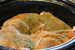 Slow Cooker Turkey Thighs Pot Roast Recipe