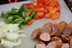 Smoked Polish Sausage and Potato Bake Recipe