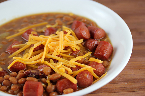 Simple Beans and Hotdogs Recipe