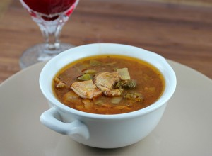 Slow Cooker Chicken Gumbo Soup Recipe