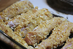 Crunchy Baked Chicken Strips Recipe