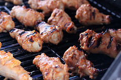 Grilled Honey Mustard Chicken Wings Recipe
