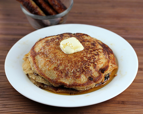 Buttermilk Whole Wheat Pancakes Recipe