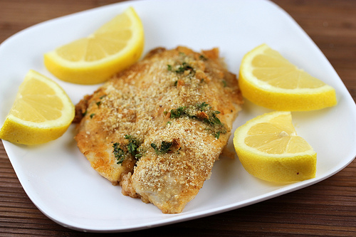 Greek Style Baked Fish