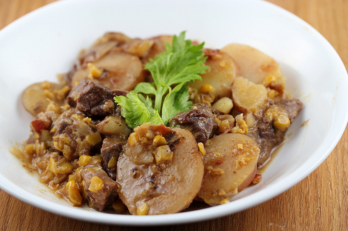 Slow Cooker Venison One Dish Dinner Recipe
