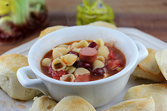 Hotdog Bean Soup Recipe