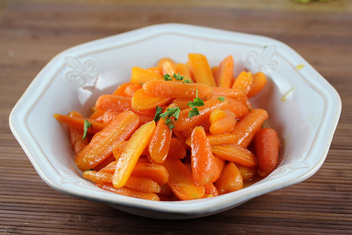 Ginger Glazed Carrots Recipe