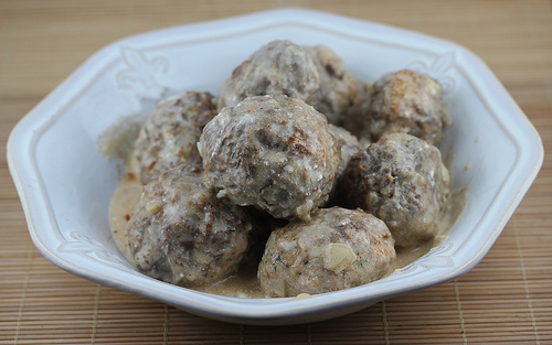 Swedish Dilled Meatballs Recipe