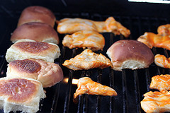 Grilled Buffalo Chicken Sliders Recipe