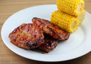 Grilled Honey Garlic Pork Chops Recipe
