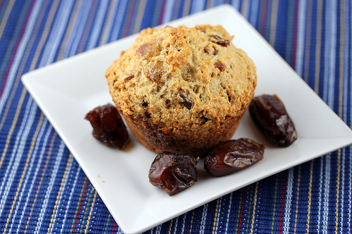 Ginger Date Muffins