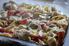 Creamy and Cheese Chicken Tetrazzini Recipe
