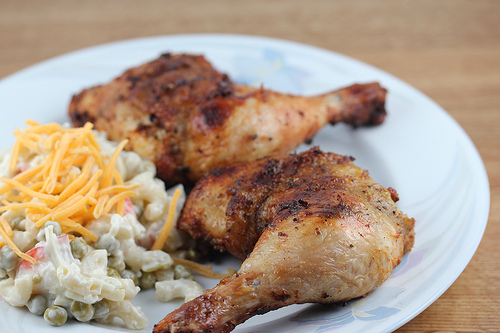 Grilled Dry Rub Chicken