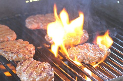 Grilled Fajita Burgers Recipe