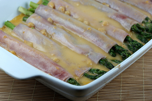 Ham and Asparagus