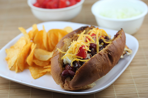 Grilled BBQ Chili Dogs Recipe