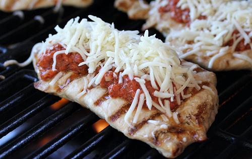 Grilled Chicken Parmesan Recipe