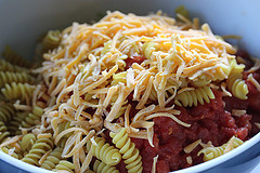 Twisty Pasta Beef Casserole Recipe