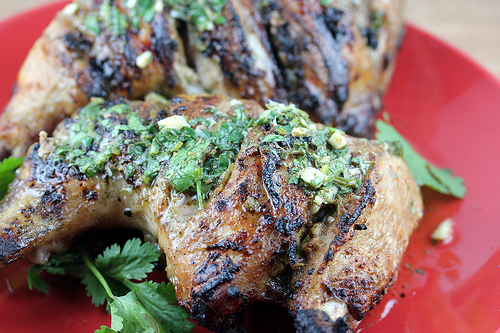 Grilled Lime Chicken Leg Quarters Recipe