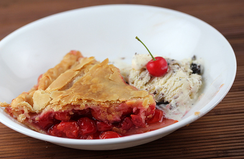 How to Make Cherry Pie with Fresh Cherries