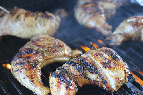 Grilled Lime Chicken Leg Quarters Recipe Cully S Kitchen