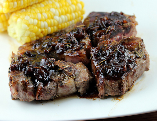 Balsamic Lamb Chops Recipe