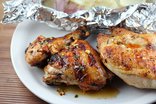 Grilled and Smoked Chicken Diavolo Recipe