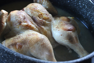 roasting chicken