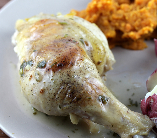 Butterflied Roasted Lemon Chicken Recipe
