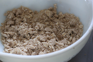 oatmeal topping
