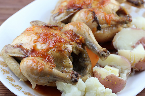 baked cornish hen cuberland recipe