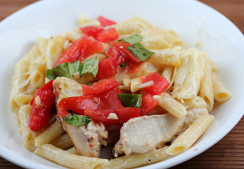 Applebee's Three-cheese Chicken Penne Recipe