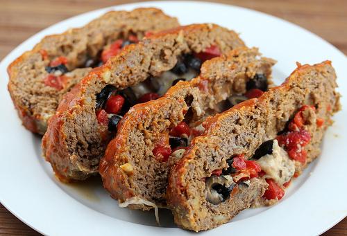 italian stuffed meat loaf